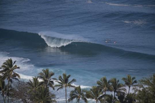 Perfect A frame wave
