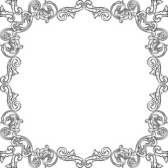Luxury art frame