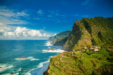 northern coast of Madeira