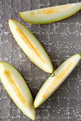 yellow melon pattern