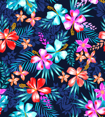 cute tropical design ~ seamless background