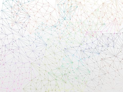 Molecule Backgound design wallpaper on white
