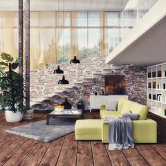 Inneneinrichtung - Interior design - 3D Render