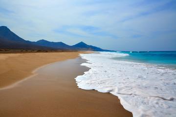 Cofete Fuerteventura beach at Canary Islands