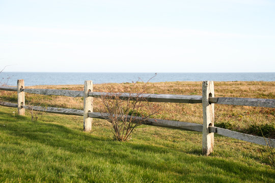 Fence on the Ocean in Little Compton