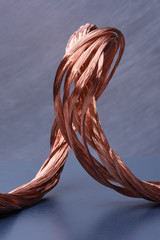 Copper wire concept of industry development and market of raw materials