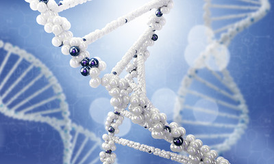 DNA molecule conceptual image