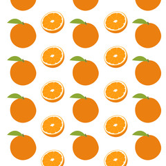vector orange pattern