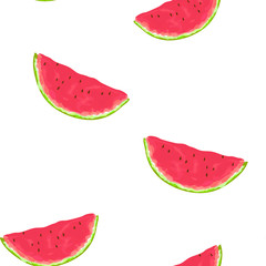 Seamless Patternof watermelon