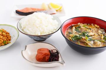 おいしそうな和風朝食
