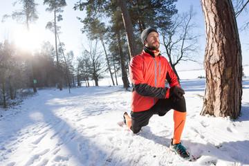 Winter running, Winter jogging, outdoor winter  activities