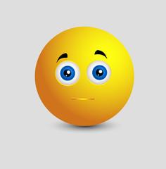 Innocent Smiley Facial
