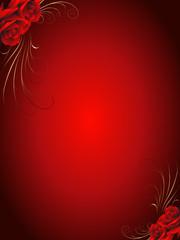 rose,rosen,floral,rot,liebe,valentin,valentinstag,umrandung,rahmen,deko,valentinskarte