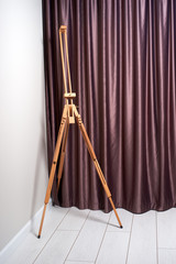 the easel indoors