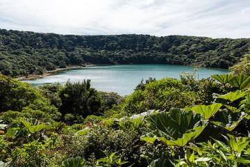 Lake Botos at vulcano Poas in Costa Rica
