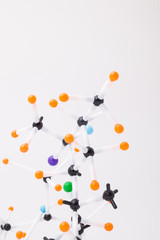 Abstract molecular structure.