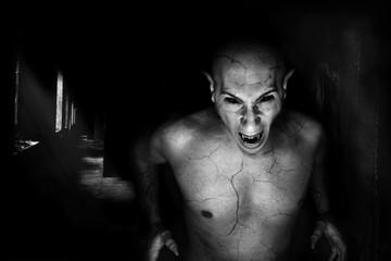 devil vampire portrait Fotoväggar
