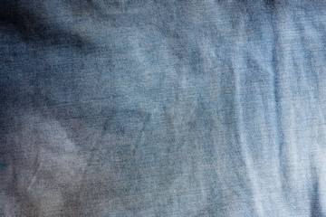 Blue Linen texture, abstract background
