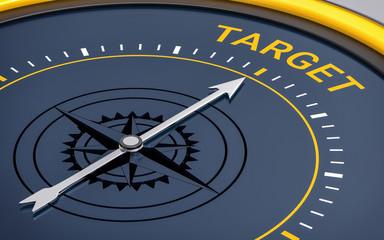 3D Compass. Target Word