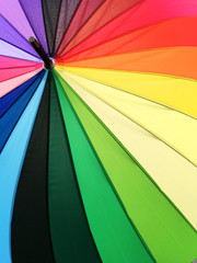 Color pattern of an umbrella background.