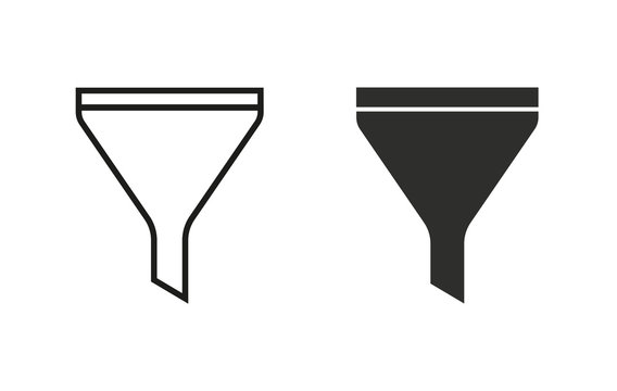 Funnel - vector icon.