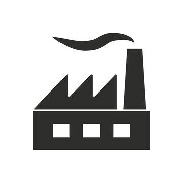 Factory - vector icon.