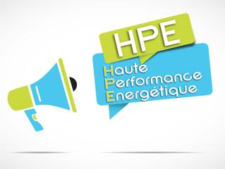 mégaphone : HPE
