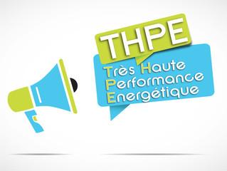 mégaphone : THPE