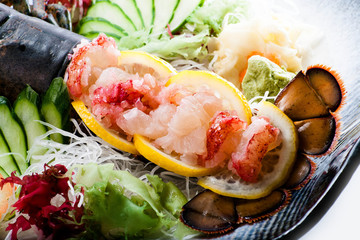 Lobster Sashimi Duet
