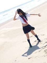 ビーチの女の子