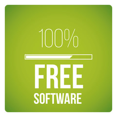 Free software design vector