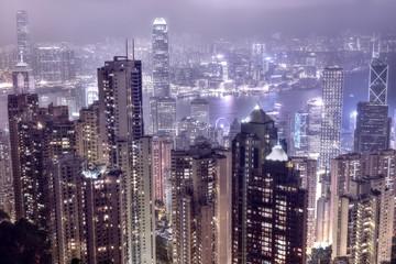 Hong Kong skyline from Victoria's Peak