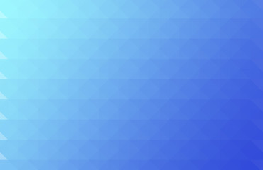 Low Poly Style / triangular shape blue graphic background