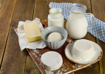 Fresh Dairy products