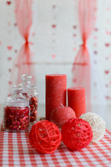 Decorations for St. Valentine's Day