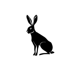 the silhouette rabbit