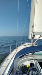 Sailboat on the IJsselmeer