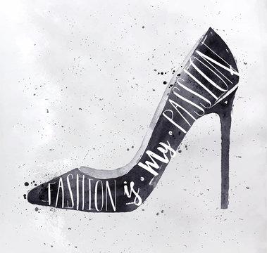 Poster high hill footwear