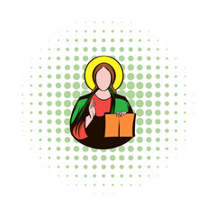 Jesus Christ comics icon