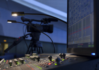 Professional digital video camera. accessories for 4k video cameras.