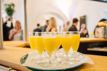 Catering und Buffet an einer Hochzeit