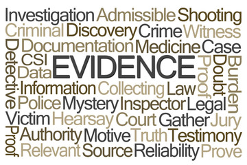 Evidence Word Cloud