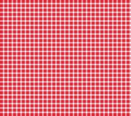 Kariertes Muster rot weiß