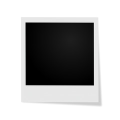 Frame on white background with shadow