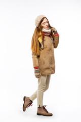 Обнаженные девушки в зимних одеждах фото 30-855