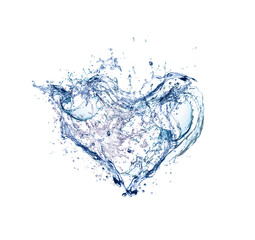 hearts of  water