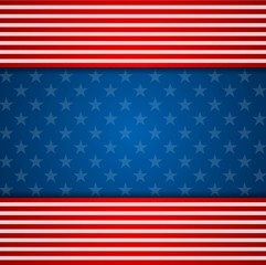 Presidents Day abstract USA flag colors background