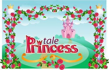 Ppincess tale frame.