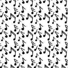 Pattern with music