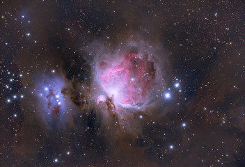 Orion Nebula (Messier 42, M42, NGC 1976) Orion constellation